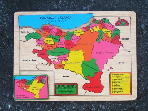EUSKAL HERRIA puzzle