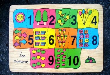 NUMÉRICO 1-10 puzzle