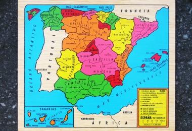 MAPA AUTONÓMICO – ESPAÑA puzzle